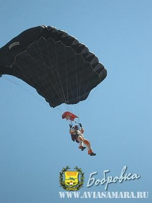 спортсмен-парашютист