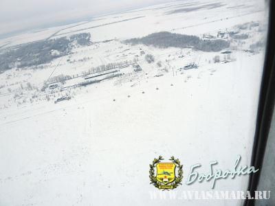 Аэроклуб зимой
